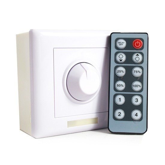 IR Infrared Remote Control DMX Dimmer PWM LED Dimming Switch