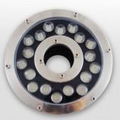 18W Underwater LED light IP68 Waterproof 12V/24V Fountain Aquarium Lamp
