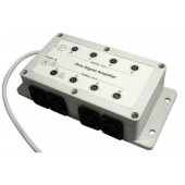 DMX Splitter 1 In : 8 Out LED DMX Signal Amplifier Booster