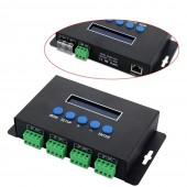 BC-204 Bincolor Led Artnet to SPI/DMX Pixel Controller Eternet Protocol 680 pixels