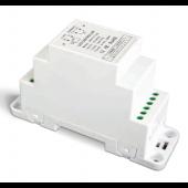 DIN Rail 1-10V LED CV DALI Dimming Driver Push Dim LTECH DIN-711-12A