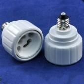 E11 to GU10 LED Lamp Bulb Base Holder Lightbulb Socket Adapter 5pcs