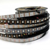 5M SK9822 LED Strip 60LEDs/m Individual Addressable 5V 300 LEDs Pixel Light