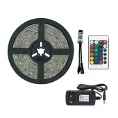 LED Light Strip RGB 5050 Decoration Lamp Infrared Bluetooth Control Lighting Gear