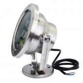 24W Pond Light Pool Fountain Submersible Spotlight Lamp LED Underwater IP68 Waterproof