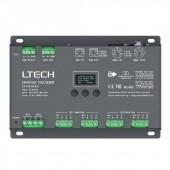 12 Channels DMX Controller Decoder DC12V 24V LT-912-OLED LTECH