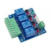 4CH DMX512 RELAY OUTPUT Decoder Max 10A WS-DMX-RELAY-4CH