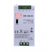 Mean Well DR-120 120W Single Output Industrial DIN RAIL Power Supply