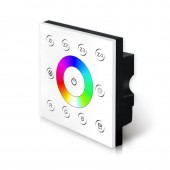 P7 Bincolor Led Controller RGB Dimmer 85V-265V Wall DMX512 Console Master Touch Panel