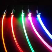 12V 1W Led Light Source LED Emitter Bulb with 5m Fiber Optic Cable Side Glow Mini Illuminator Lamp