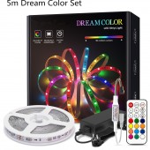 RGB WS2811 LED Strip Light Party Multicolor Home Bedroom Full Set