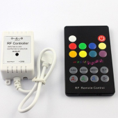 RF RGB Music Sound Wireless RF Remote LED Controller Longer Distance
