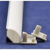 V Slot 1M Aluminium Led Profile Strip Channel Housing For Corner Kitchen Cabinet