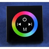Wall Mount Touch Panel RGB Embed LED Controller 12V 24V TM08