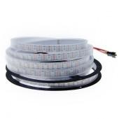 WS2813 DC 5V Dual-signal Wires RGB LED Pixel Strip 5M 300LEDs